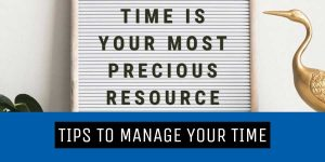 tips to manage time editorial virtual hand