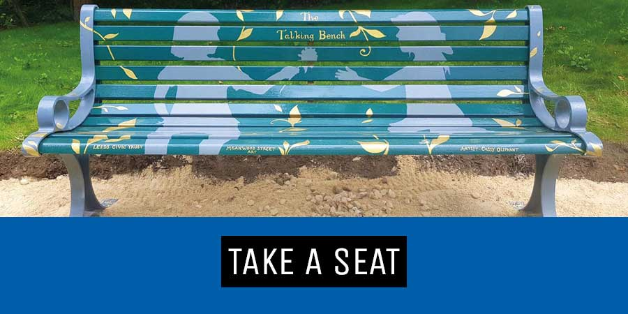 take a seat campaign leeds Cassy Oliphant