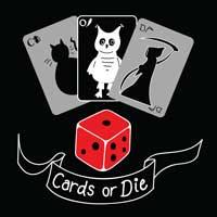 Card or Die Board Game Nights logo